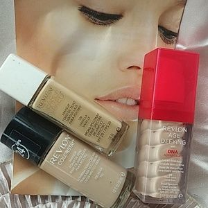 Revlon foundation bundle of 3